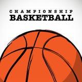 Basketball-Meisterschafts-Vektor-Hintergrund stockfotografie
