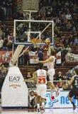 Basketball milano Royalty Free Stock Image