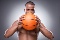 Basketball is my life. Royalty Free Stock Image