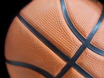 Basketball-Nahaufnahme Lizenzfreie Stockfotografie