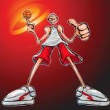BasketBall Nerd Royalty Free Stock Photos
