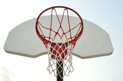 Basketball net_2 Stock Photography