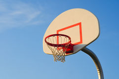 Basketball net Stock Photography