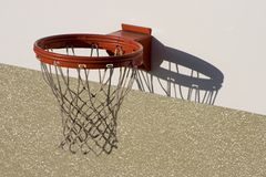 Basketball Net. A basketball net royalty free stock photo