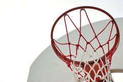 Basketball net. An old basketball net Royalty Free Stock Photos