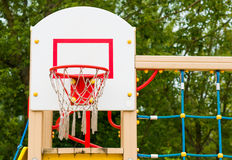 Basketball net and hoop Royalty Free Stock Image