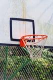 Basketball Net Hoop. An Outdoor Basketball Backboard With Net Stock Photography