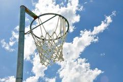 Basketball Net in the Sky Stock Photos