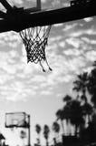 Basketball-Netz Stockfotografie