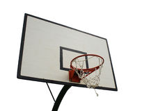 Basketball-Netz getrennt Lizenzfreies Stockfoto