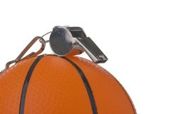 Basketball official Royalty Free Stock Photos
