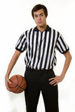 Basketball official Stock Image