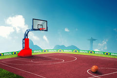 Basketball Olympic games Royalty Free Stock Images