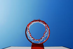 Basketball outdoor court Stock Image