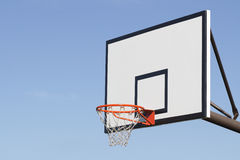 Basketball. Outdoor basketball field playground sports Stock Photos