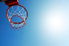 Basketball outdoor Stock Photo