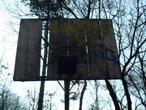 Basketball panel Stock Image