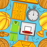 Basketball pattern -  Sport - #2 Royalty Free Stock Photos