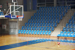 Basketball pitch Royalty Free Stock Images