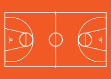 Basketball pitch Stock Photos