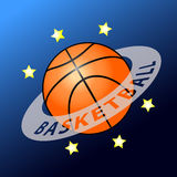 Basketball planet Royalty Free Stock Images