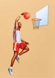 Basketball player Royalty Free Stock Photo