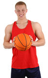 Basketball player Royalty Free Stock Image
