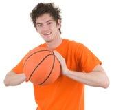 A basketball player Royalty Free Stock Photos