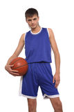 The basketball player Royalty Free Stock Photo