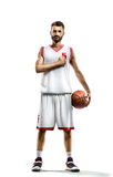 Basketball Player in action royalty free stock photos