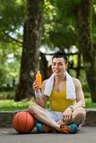 Basketball player Royalty Free Stock Images