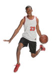 Basketball Player Dunking Ball Royalty Free Stock Image