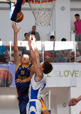 Basketball player Emanuel Cate in action Stock Photo