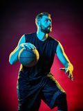 Basketball player man  Stock Images