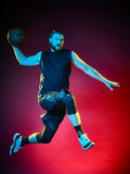 Basketball player man  Royalty Free Stock Photo