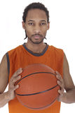 Basketball player portrait Stock Images