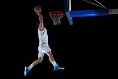 Basketball player portrait Stock Photography