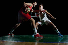 Basketball player portrait Stock Image