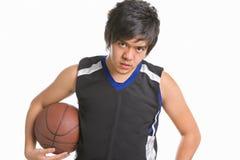 Basketball player pose Royalty Free Stock Photography