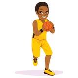 Basketball Player Running Royalty Free Stock Photos