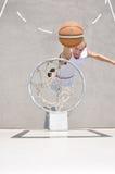 Basketball player shooting Royalty Free Stock Photo