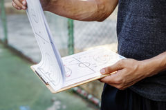 Basketball Player Sport Game Plan Tactics Concept Stock Photos
