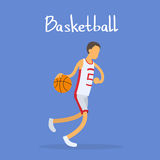 Basketball Player Sportsman Sport Competition Royalty Free Stock Image