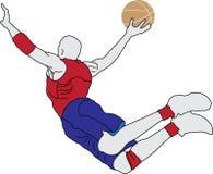 Basketball Player Royalty Free Stock Photos