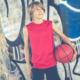 Basketball player Royalty Free Stock Photos