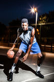 Basketball player Royalty Free Stock Photo