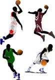 Basketball players Stock Photography