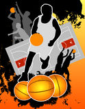 Basketball Players Stock Image