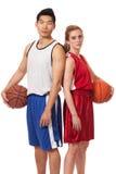 Basketball Players Royalty Free Stock Photos