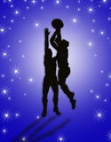Basketball Players illustration Stock Photos